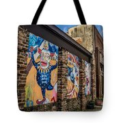 Downtown Clowns Tote Bag