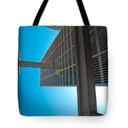 Downtown Detroit Up Tote Bag