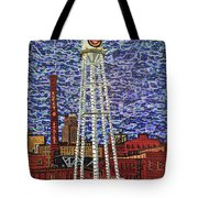 Downtown Durham Tote Bag