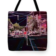 Downtown Eclipse Tote Bag