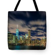 Downtown From Brooklyn Tote Bag
