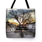 Downtown Hdr Atchison Tote Bag