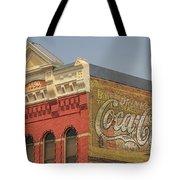 Downtown Livingston Montana Tote Bag