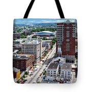 Downtown Manchester Tote Bag