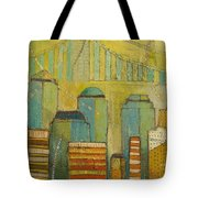 Downtown Manhattan Tote Bag