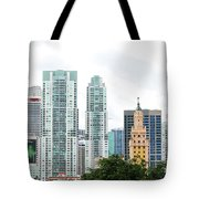 Downtown Miami Tote Bag