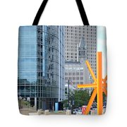 Downtown Milwaukee Tote Bag