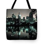 Downtown Minneapolis At Night II Tote Bag