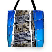 Downtown Montreal Tote Bag by Juergen Weiss