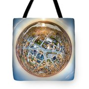 Downtown Mukwonago Little Planet Tote Bag