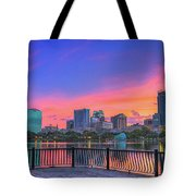 Downtown Orlando Florida  Tote Bag