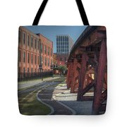 Downtown Paradox Tote Bag