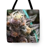 Downtown Purple Tote Bag