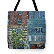 Downtown Raleigh - West Martin Street Tote Bag
