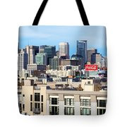 Downtown San Francisco Tote Bag