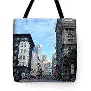Downtown San Francisco Street Level Tote Bag