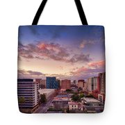 Downtown San Jose From City Heights Tote Bag