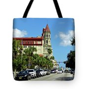 Downtown St Augustine Tote Bag