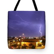 Downtown Storm Tote Bag