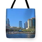 Downtown Tampa-2 Tote Bag