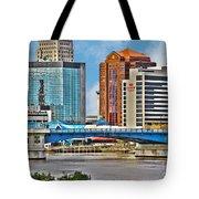 Downtown Toledo Riverfront Tote Bag