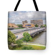 Downtown Waterloo Iowa  Tote Bag