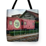 Downtown Woodstock Tote Bag