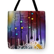 Dowstream With The Goddess Tote Bag