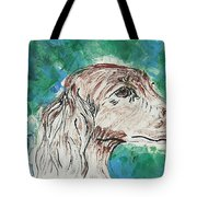 Doxie Blues Tote Bag