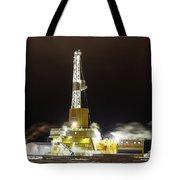 Doyon Drilling Rig And Camp Tote Bag