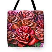 Dozen Roses Tote Bag