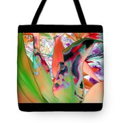 Abstracted Leaf Patterns #1  Ref. Dp67  Tote Bag