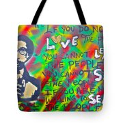 Dr. Cornel West  Love The People Tote Bag
