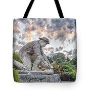 Dr. Kenneth Fox Sculpture Oldtown Auburn Tote Bag