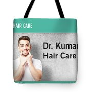 Dr. Kumar's Hair Care Clinic, Hair Transplant Services, Hair Transplant Doctors Tote Bag