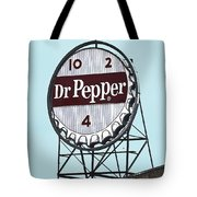 Dr Pepper Landmark Sign Roanoke Virginia Tote Bag