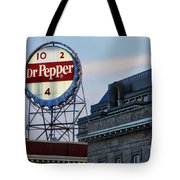 Dr Pepper Sign Tote Bag