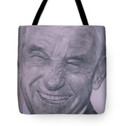 Dr. Ron Paul, Big Warm Smile Tote Bag