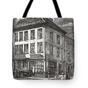 Dr. Samuel Johnson S Birthplace In Tote Bag