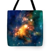 Draconian Nebula Tote Bag by Corey Ford