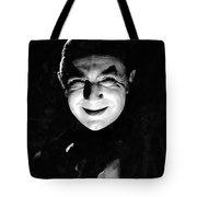 Dracula In The Shadows Tote Bag