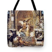 Draft Curtain Theatre In Krakow 1894 2 Henryk Semiradsky Tote Bag
