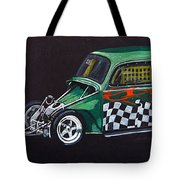 Drag Racing Vw Tote Bag