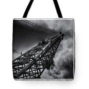 Dragline 553bw Tote Bag