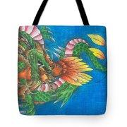 Dragon And Phoenix Tote Bag