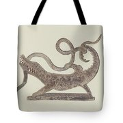 Dragon And Serpent Weather Vane Tote Bag