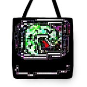 Dragon Brooch Tote Bag by Eikoni Images