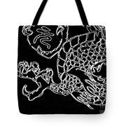 Dragon Bw Tote Bag