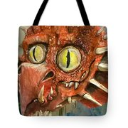 Dragon Commission Tote Bag