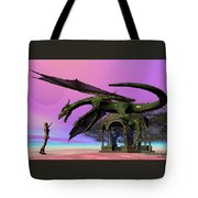 Dragon Tote Bag by Corey Ford